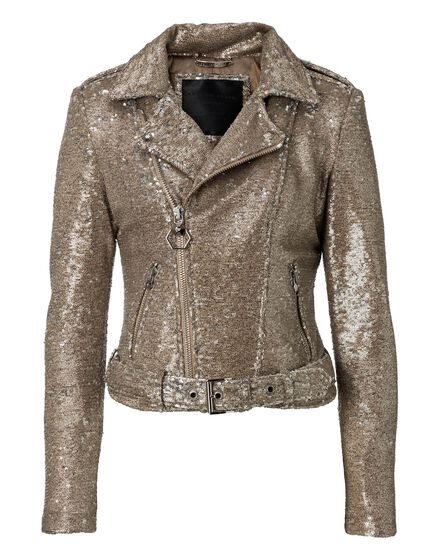 Biker Jacket Pailettes Light