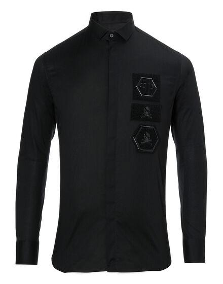 Shirt Diamond Cut LS Foxy