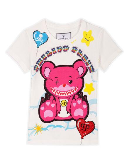 T-shirt Round Neck SS Honey Flow