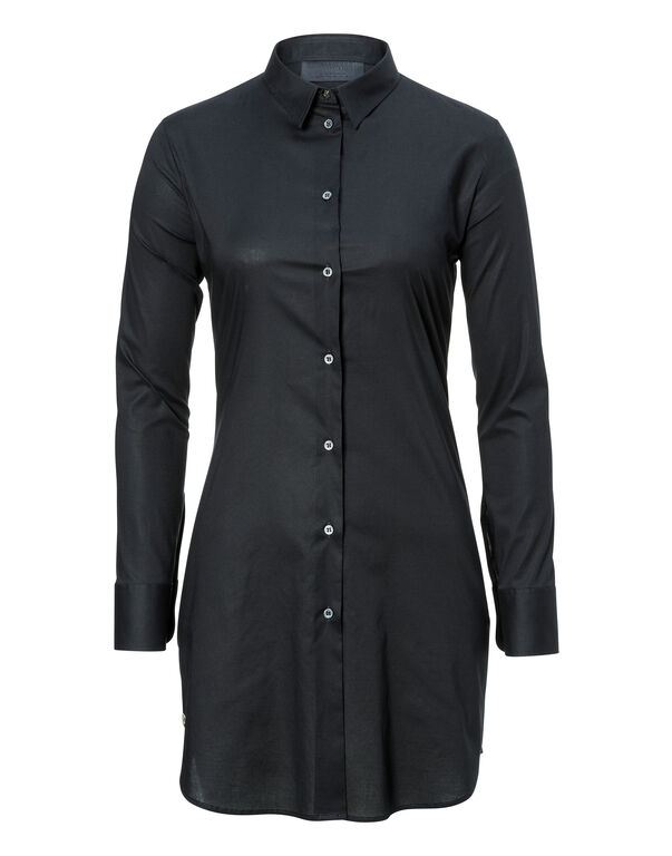 "Shirt Dress ""Siena Blue"""