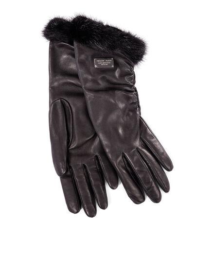 Mid-Gloves amber