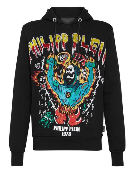 Hoodie sweatshirt Graffiti