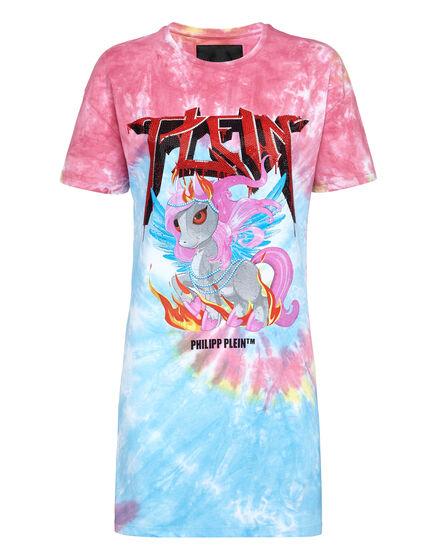 T-Shirt Short Dresses Unicorn