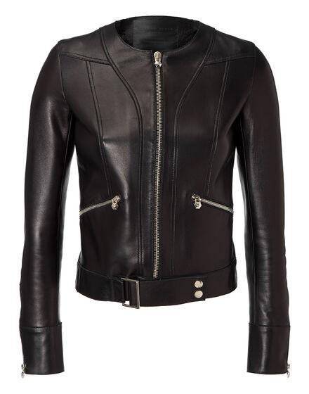 leather jacket power power