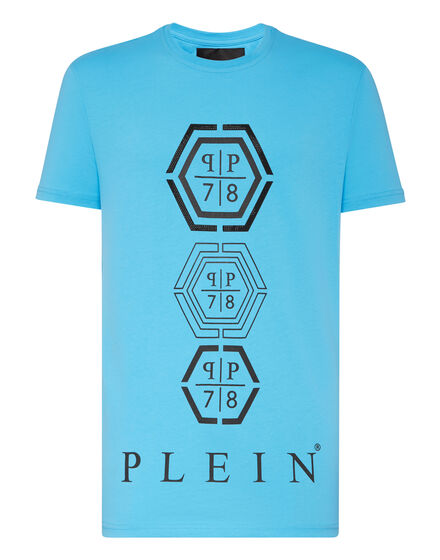 T-shirt Round Neck SS Hexagonal
