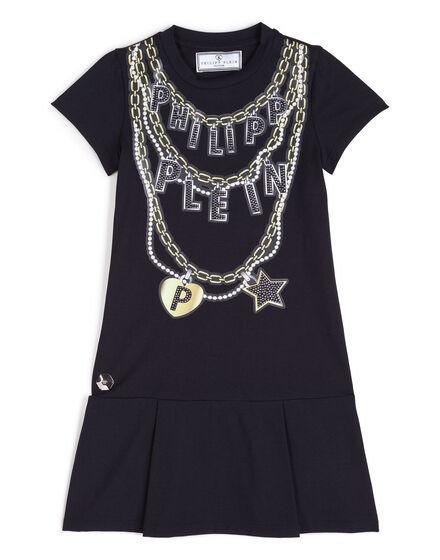 Short Dress - Chained Heart