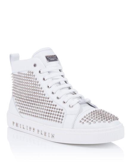 Hi-Top Sneakers Come in