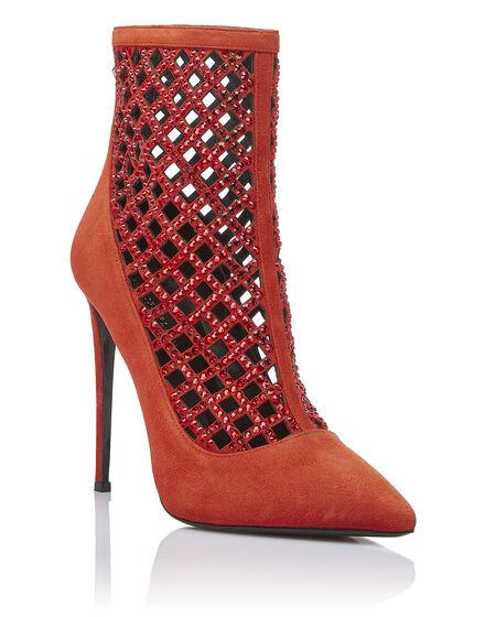 bootie high heels Ines