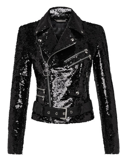 Biker Jacket Paillettes