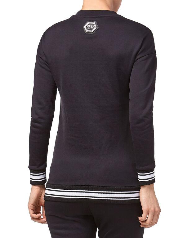 """Sweatshirt LS """"Crystal Plein"""""""
