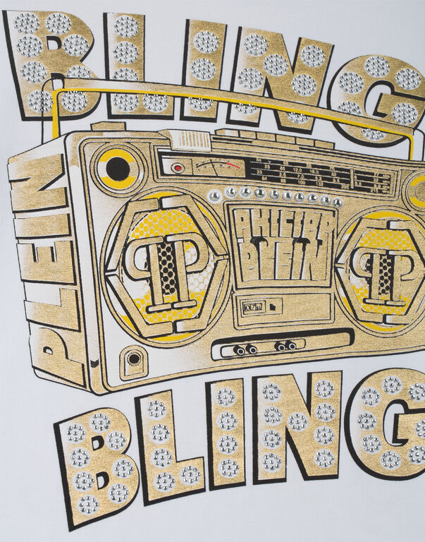 "T-Shirt Round Neck SS ""Bling Bling"""