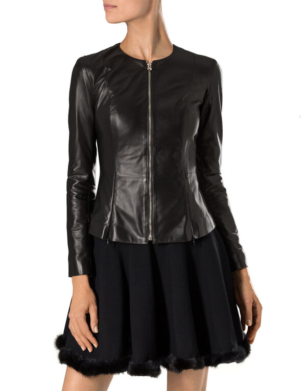 "leather jacket ""eleven madison"""