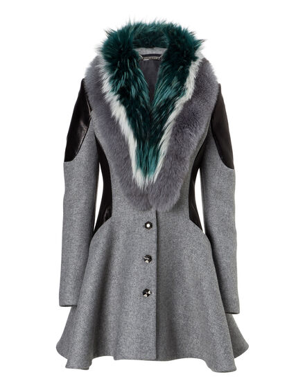 Coat Long Lighted Fur