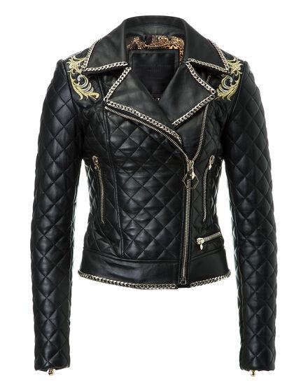 Leather Biker Kolours