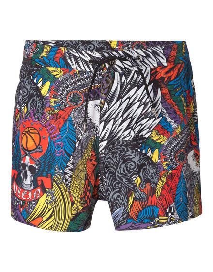 Beachwear Trousers Cerise