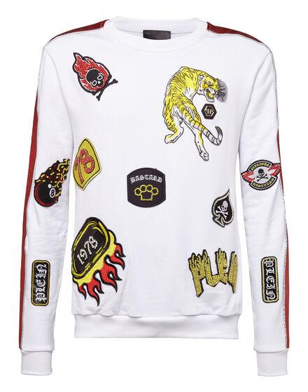 Sweatshirt LS Patch me