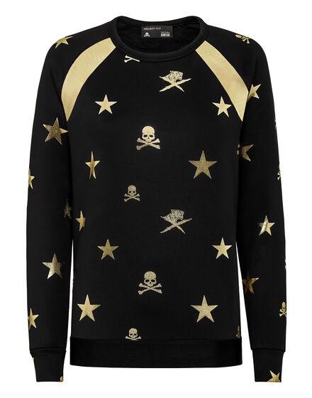 Sweatshirt LS XYZ Skull and tiger