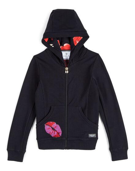 Jogging jacket Raspberry