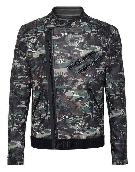 Leather Biker Camouflage