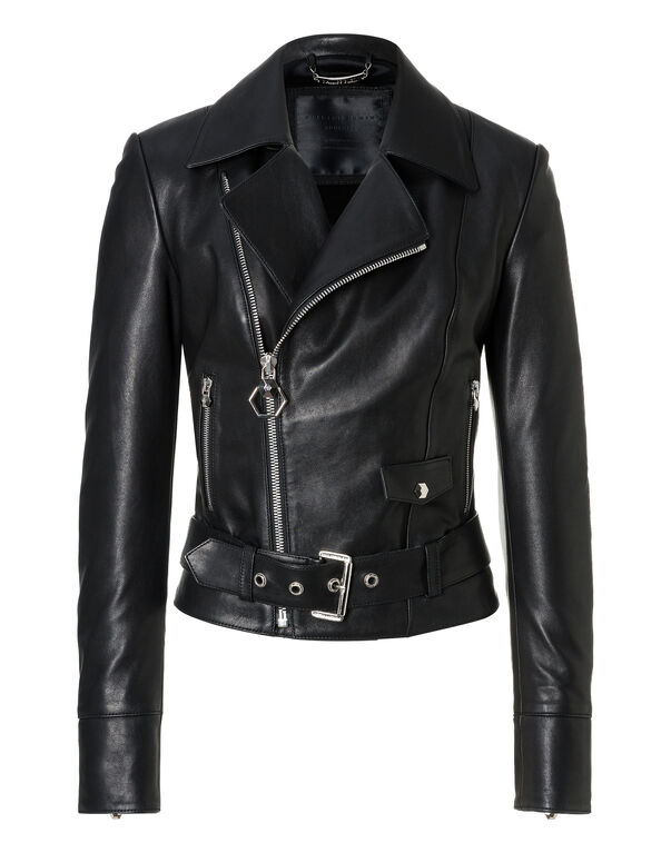"Leather Biker ""If I can"""