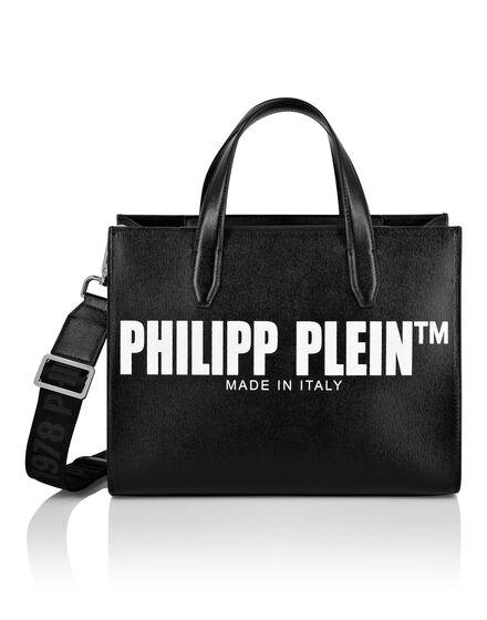 Leather Shoulder Bag Philipp Plein TM