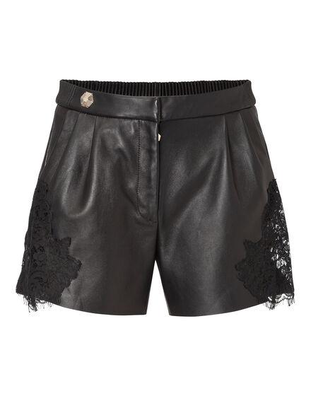 leather shorts bad romance