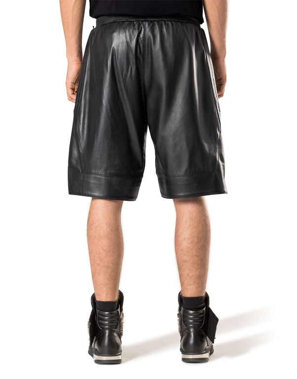 """Leather Shorts """"My show"""""""