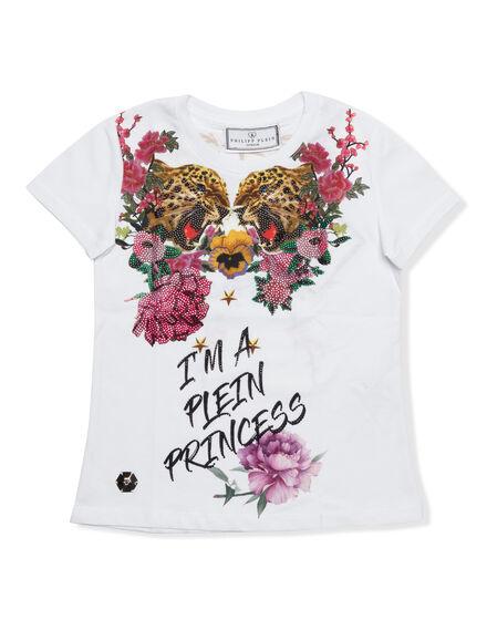 T-shirt Round Neck SS I´m a plein princess