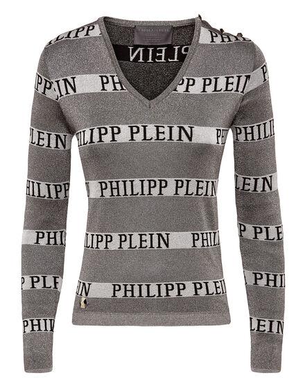 Pullover V-Neck LS Lines