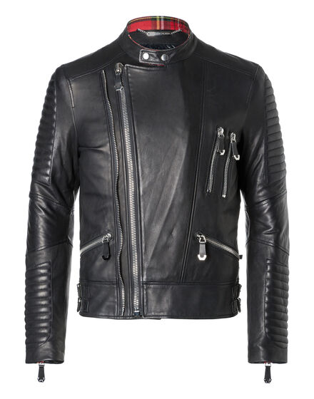 Leather Moto Jacket Jimbo