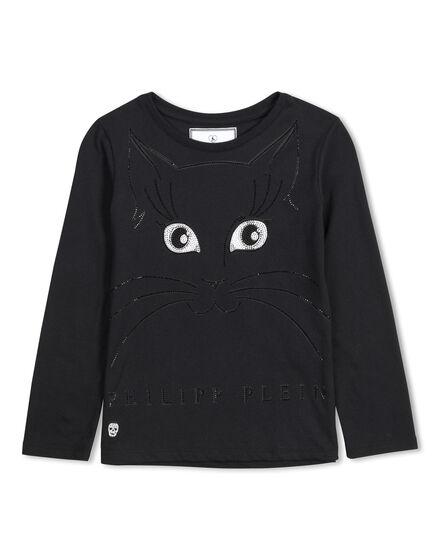 t-shirt long sleeves hey kitty