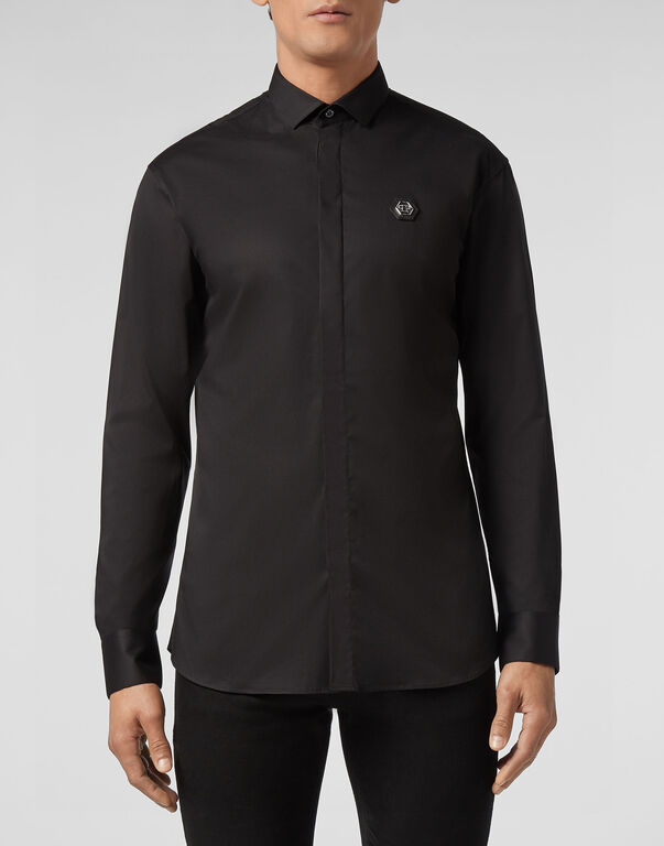 Shirt Platinum Cut LS Space Plein