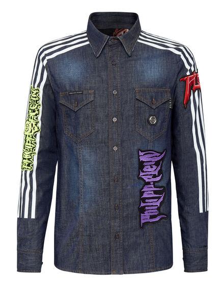 Denim Shirt Ls Rock PP