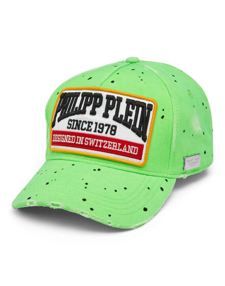 Baseball Cap Painted Patches