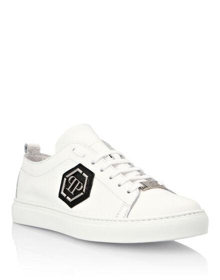 Crocodile Lo-Top Sneakers Hexagon