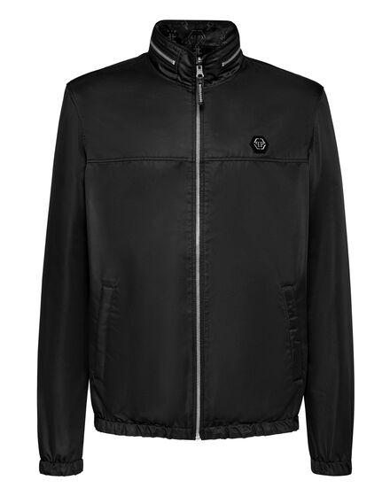 Reversibile Nylon Jacket Camou Monogram