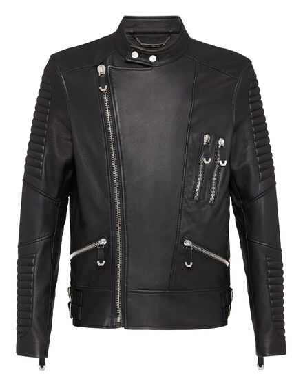 Leather Biker Zenobe