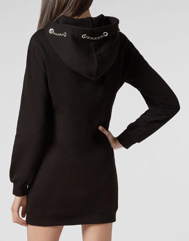 Hoodie sweatshirt dress PP1978