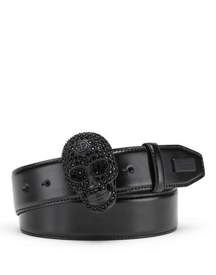 Belt Skull crystal