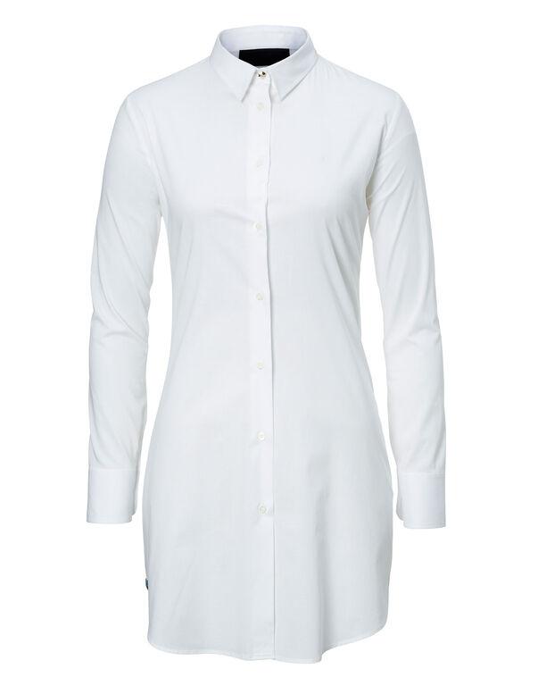"""Shirt Dress """"Siena Blue"""""""