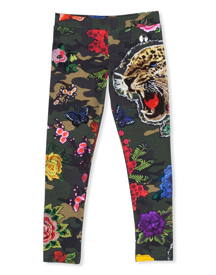 Jogging Leggings Flower power
