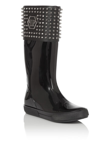 gummy boots wintery