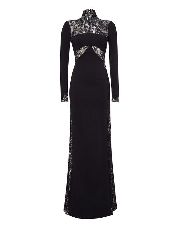 "evening gown ""cyclamen"""