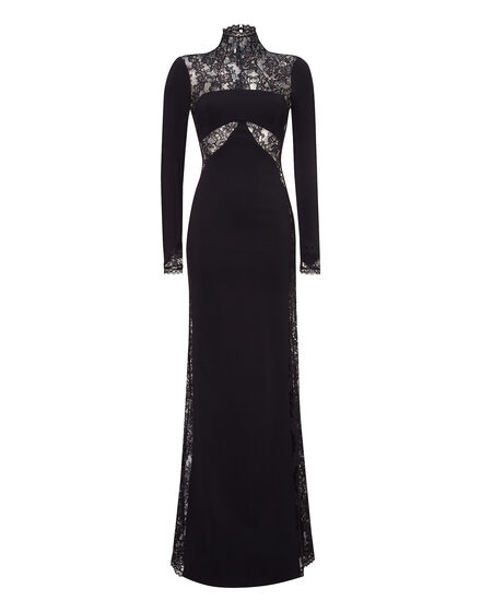 evening gown cyclamen