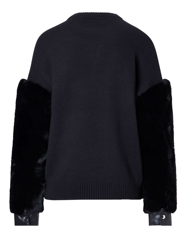 """Pullover Round Neck LS """"Kiss Giant"""""""