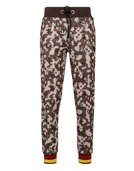 Jogging Trousers Camouflage Monogram