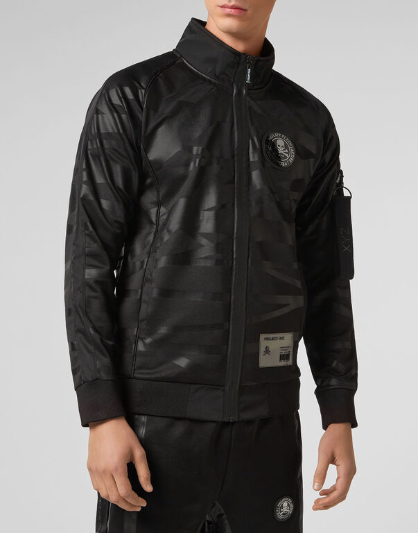 Jogging Jacket XYZ Skull and Plein
