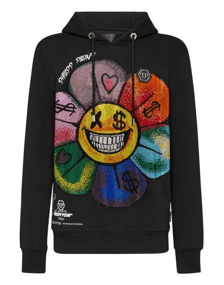 Hoodie sweatshirt Flowers