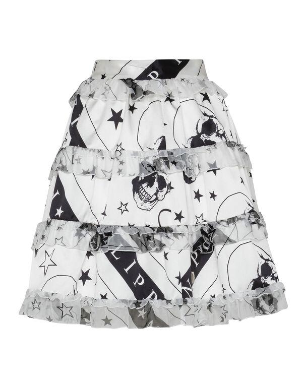 Short Skirt Stars and skull