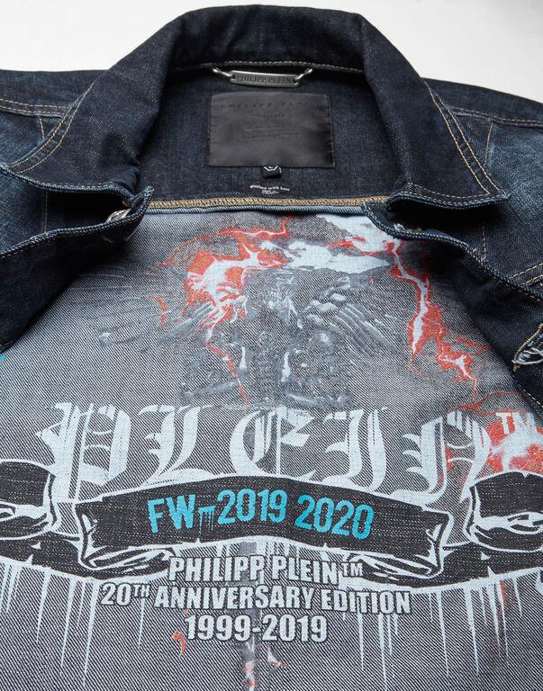 Denim Jacket Flame
